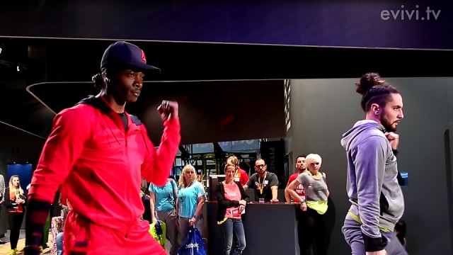 Reebok Fashionshow auf der Fibo 2013 – Coole Breakdance moves