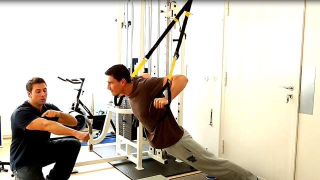 Liegestütz Variante 3 – TRX Videos als Trainingsworkout