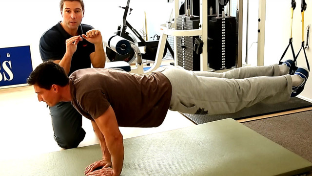 TRX Workout – Trizeps pushup Training