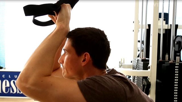 Trizeps French Press – TRX Workout Training