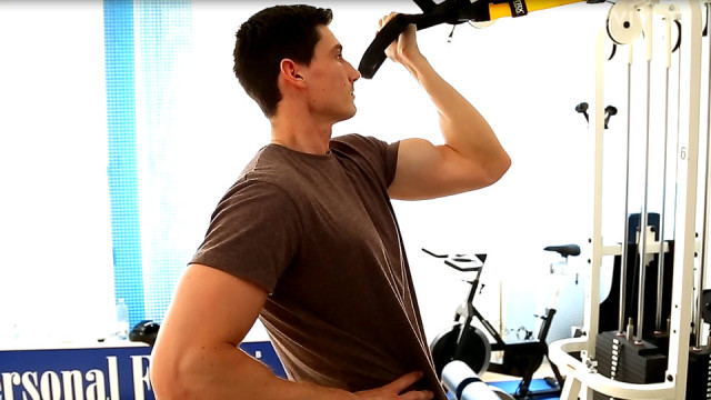 Effektives Bizeps Training – TRX Training als Workout mit eigenem Körpergewicht
